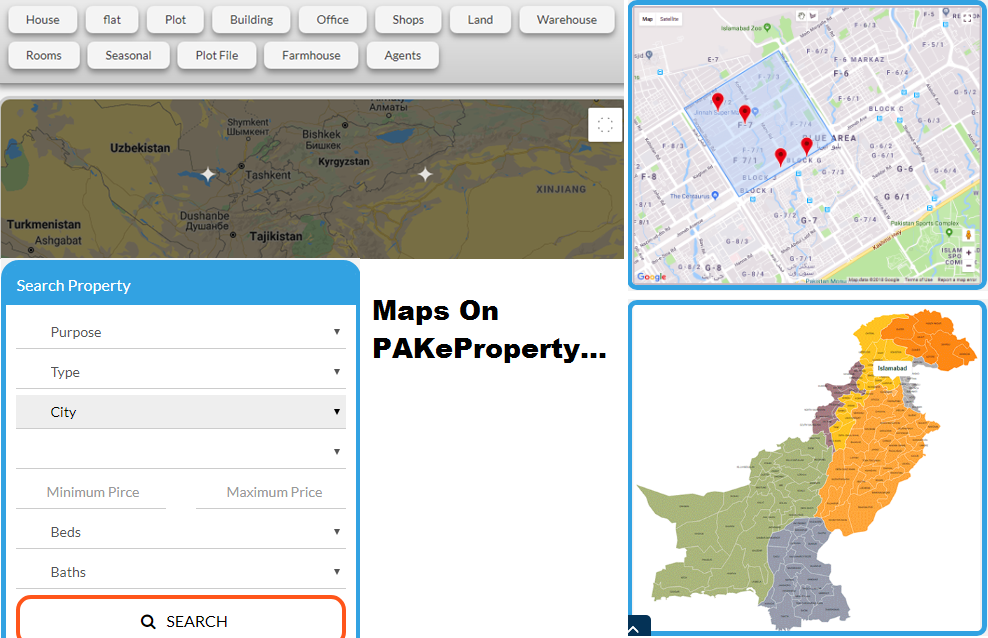 PAKeProperty and Google Maps Integration… Pioneers Always Step Ahead…