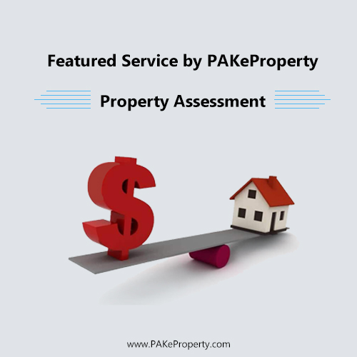 Featured Service by PAKeProperty… Property Assessment.