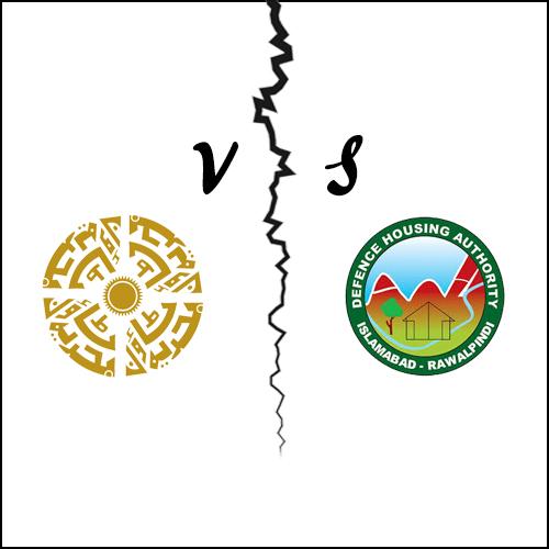 DHA vs Bahria Town
