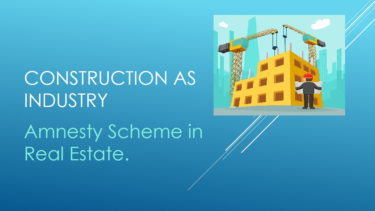 Construction as Industry