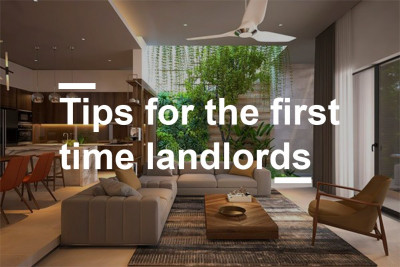 Guidelines to follow for First-time Landlords.