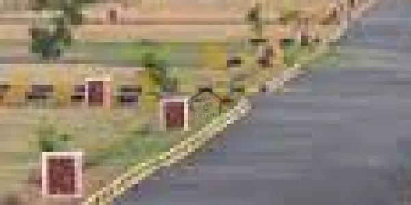 Faisal Town B Block - 35x70 Corner Plot File For Sale