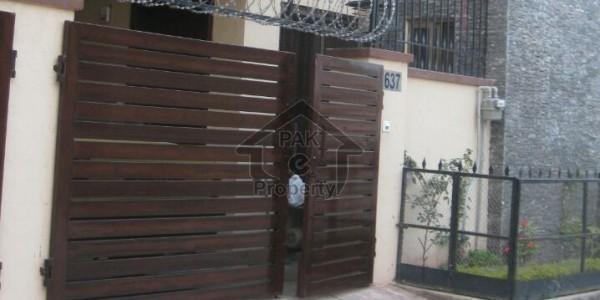 ground portion 4 marla with gas 14500 rent in gouri town islamabad