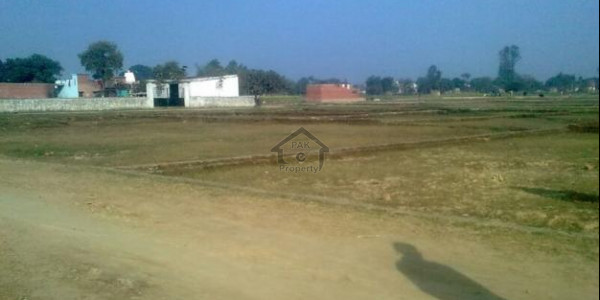Jhang Road, 6 Kanal-Commercial Plot Available For Sale