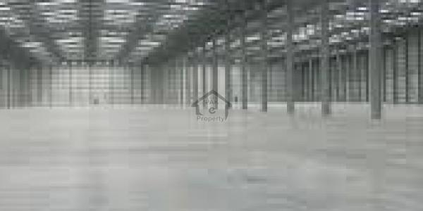 Sargodha Road - 10 Kanal Warehouse At Small Industrial Estate Sargodha Road IN Faisalabad