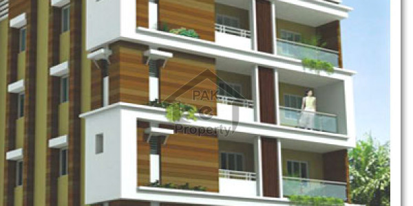 Brand New 3 Bedrooms Apartment In Rahat Commercial 1st Floor 3 Side Corner
