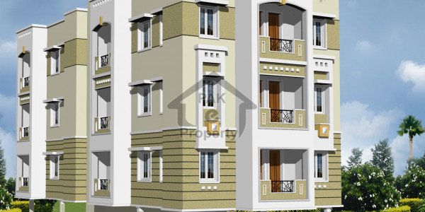 Brand New 3-Bedrooms Apartment In Ittehad Commercial First Floor