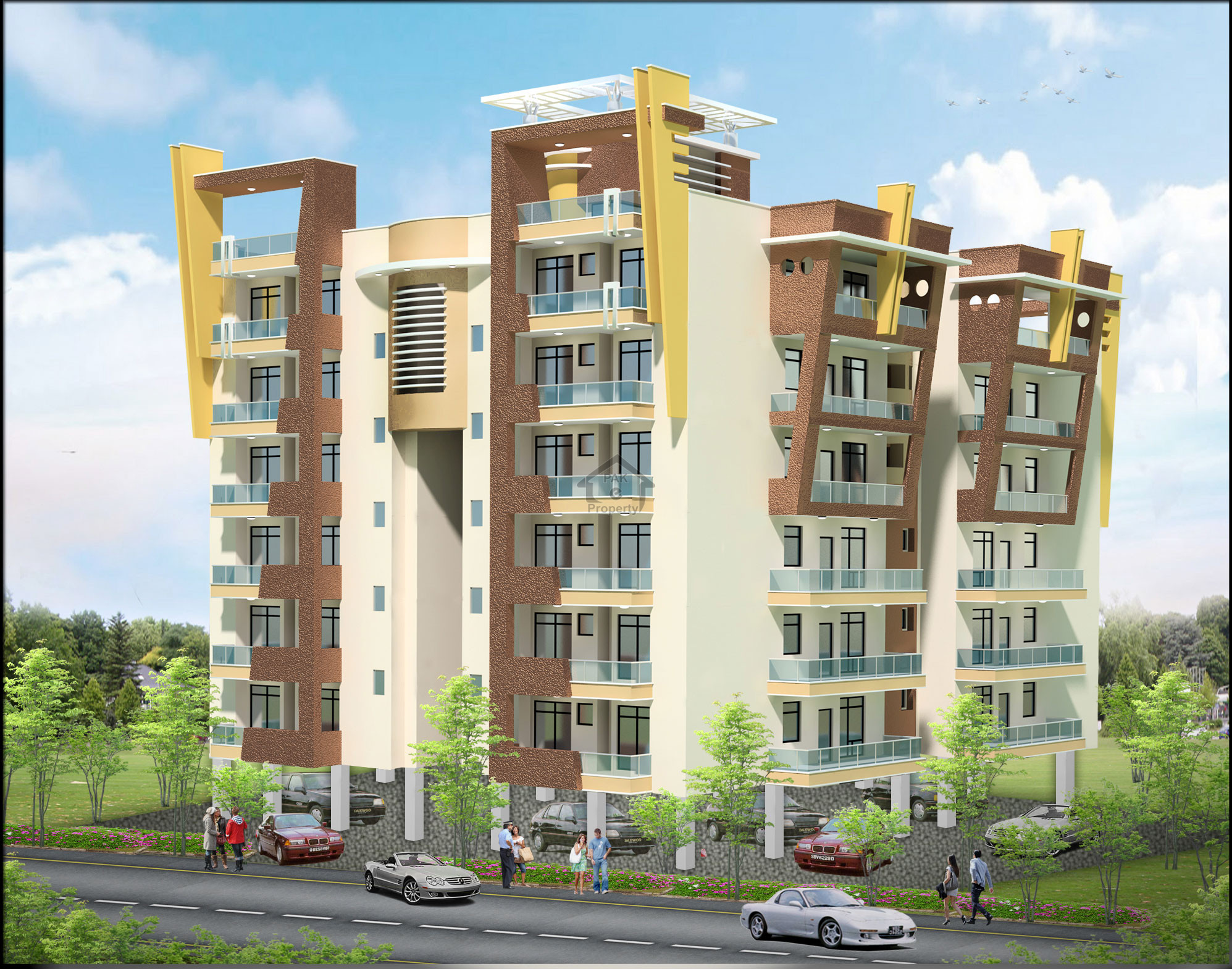 Bukhari Commercial Two Bed Flat For Sale