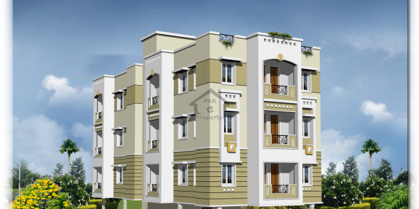 Old Sukkur-900 Sq. Ft.-Flats Available On Installments Project Under Construction
