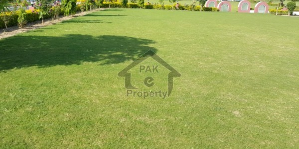 10 Marla Residential Plot For Sale In Bahria Town Phase 8 - Block L