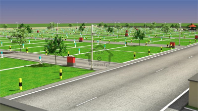 Housing Colony-10 Marla Plot For Sale Main Canal