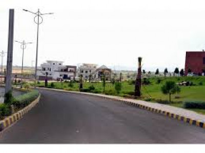 17 Marla -Plot Is Available For Sale In Canal Garden - Phase 1, Street# 1