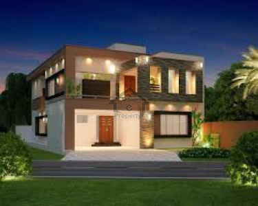 Canal View-5 Marla-Double Storey Brand New Beautiful House For Sale in  Okara