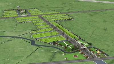 DHA City - Sector 3,- 8 Marla -  Plot  For Sale .