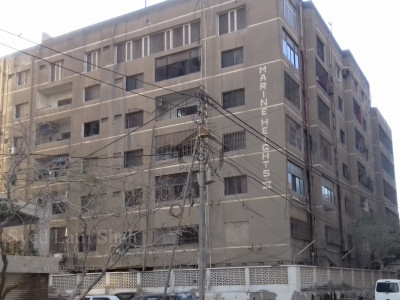 Flat is available for Sale: Marine Height –3, Clifton, Block-2, Karachi.