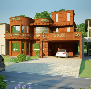 Bahria Town - Tulip Block, -10 Marla- House  For Sale..