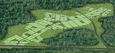 Omega Residencia, - 3 Marla - plot  for sale on easy installment.