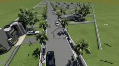 Omega Residencia, - 5 Marla - plot  for sale on easy installment.