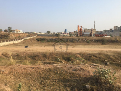 Land Available Fateh Jang Road Opposite New Air Port