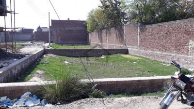 10 Marla Corner Plot- Faiz Alam Town Gujranwala