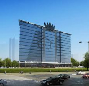 COMMERCIAL OFFICE AVAILABLE FOR SALE IN EASY INSTALLMENT IN THE BAHRIA TOWN KARACHI