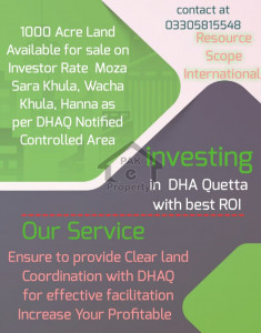 DHA Quetta Notified Area
