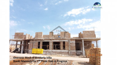 3 Bedroom Villa Apartment Booking Start From 2.6 Lac In Capital Smart City Islamabad.