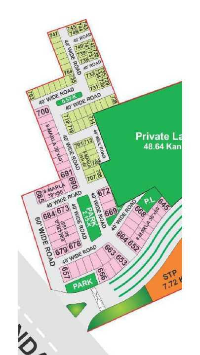 Plot for Sale in Bahria Orchard Lahore