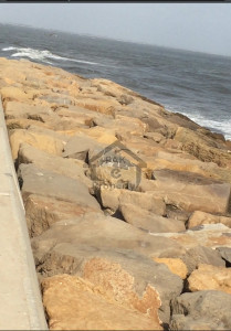 Dha Karachi sea facing plot Commercial