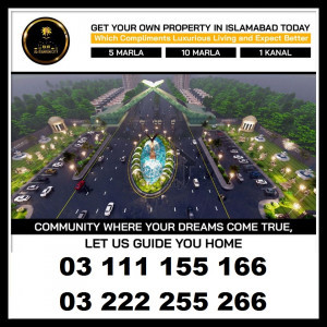 Al Makkah City Islamabad 5 8 10 Marla plot for sale on installments
