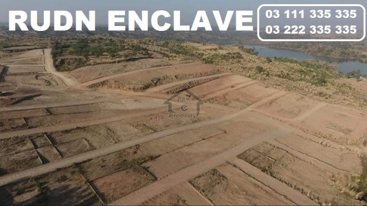 Rudn Enclave islamabad 5 8 10 Marla plot for sale on installments