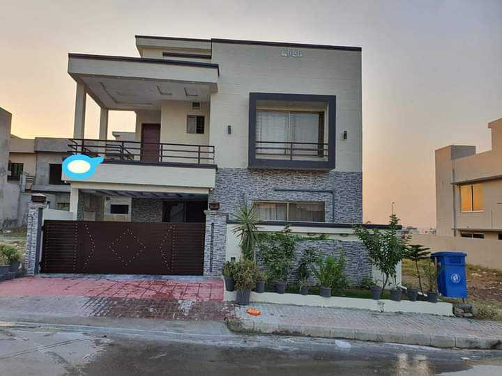 BAHRIA TOWN PHASE 8 F1 10marla full furnished house for sale