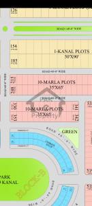 10 Marla plot in Block B Phase 1 CITI Housing Faisalabad