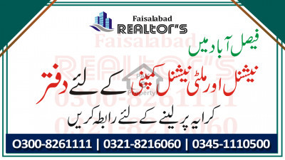 Office Ground Floor For Rent For Travel Agency And Consultancy At Kohinoor Plaza