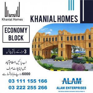 Plot for sale on installments