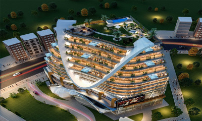 Shop for sale in the hash mall in bahria town
