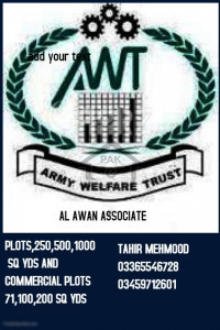 Plots for  Wanted in AWT D18   sang jani Islamabad