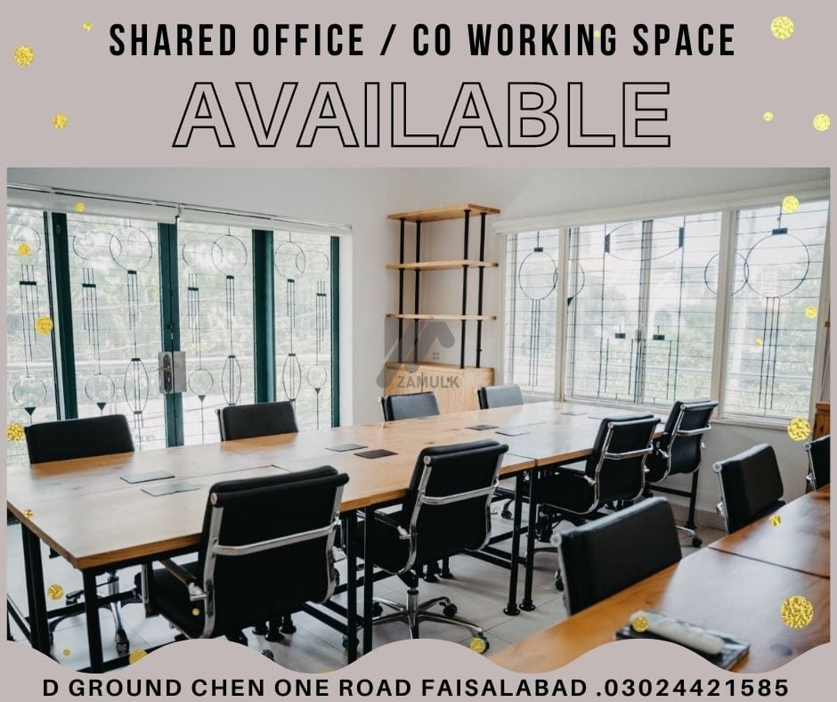 Affordable Shared Office/Co-Working Space Ideal Fo